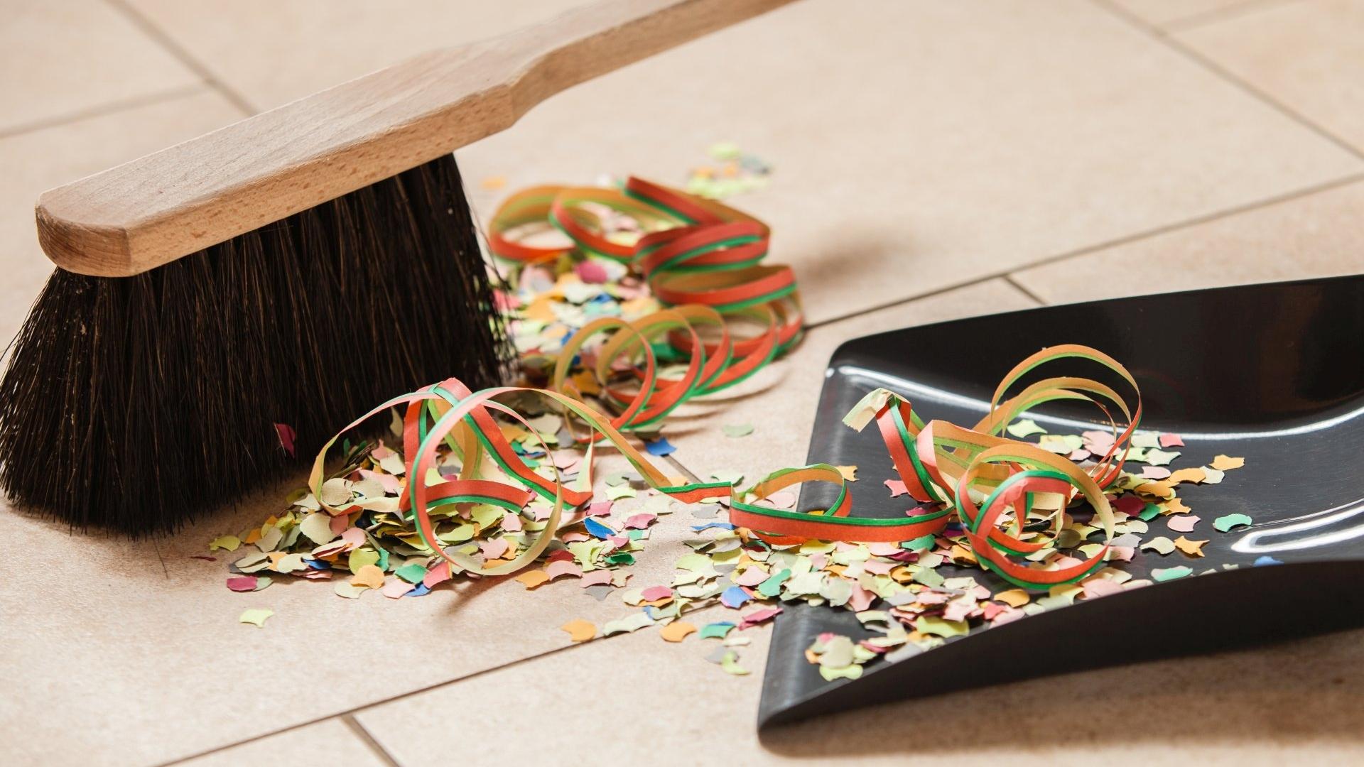 Sposoby na szybkie sprzątanie po imprezie
